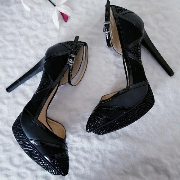 a4b9c3098828 Jessica Simpson Shoes - Jessica Simpson Vindie Pointed Toe Platform Pumps